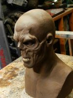 The Red Skull Sculpt Finished 2 by XtcofPain