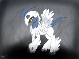 Mega pony Absol by ChromaCatto