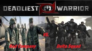 Deadliest Warrior Bc vs. DS by Lord4536