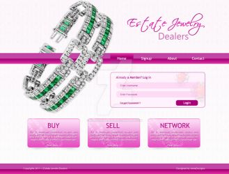 Jewelery  website design by waqaskhan766