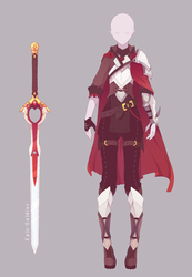 Outfit and Weapon commission by Epic-Soldier