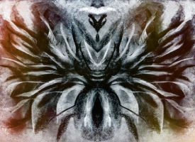 ABSTRACT--INSECT GOD 2 by WeirdDarkness