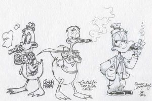 Howard The Duck x3 by SpiderGuile