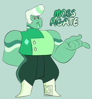 Moss Agate by XombieJunky