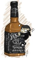 Jack Daniels you delicious bastard! by Aggrotard