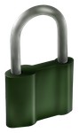 Green Padlock by IxoliteFH
