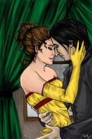 A Blossoming Love by Lady-Faustus
