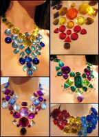 Rhinestone Statement Necklace3 by Natalie526