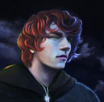 Kvothe The Bard - Detail by Dream-of-This