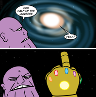 Avengers: Infinity War in a Nutshell by MichaelJLarson