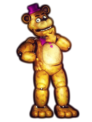 Thinking Fredbear. by RedGekkouga