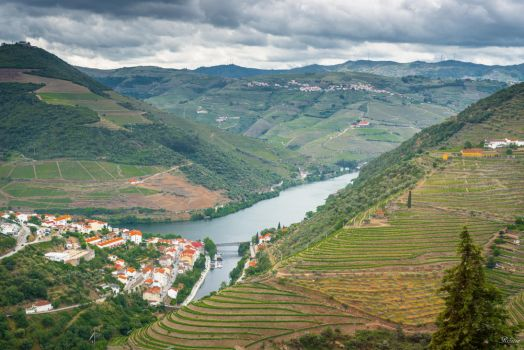 sweet Portugal - aerial view Douro update by Rikitza