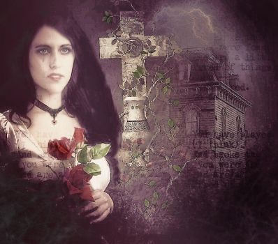 ...+ in the roses..+ by Bohemiart