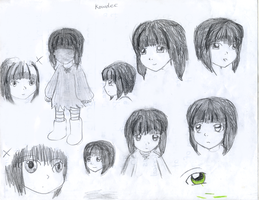 Kowdee sketches by TheBookof-ThePeddler