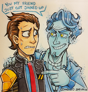 -Tales From The Borderlands- by ZombiDJ