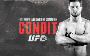 Carlos Condit Champ Wallpaper by SoullessKassidy