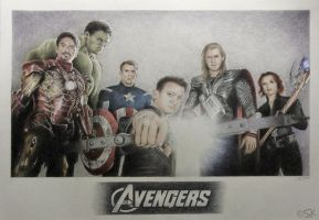 The Avengers by Susie-K