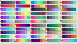 Cool Color Pallets Adopts #1 {OPEN} by Kittenkat20022