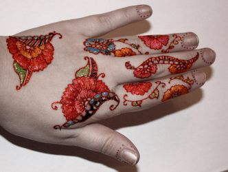 Alle meine (Henna) Farben/All my (Henna) Colors by Yilanja