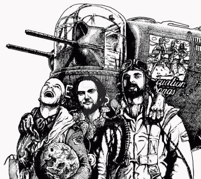Inks for the LIBERATOR EP by artserge