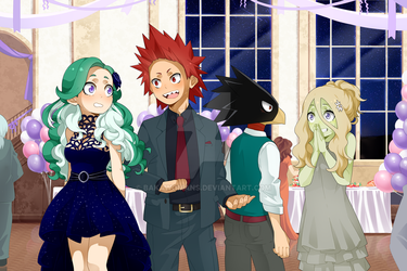 : [ May I have this dance? ] : Collab : BNHA OC : by bakawomans