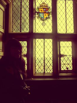 the girl at the window by glam-our