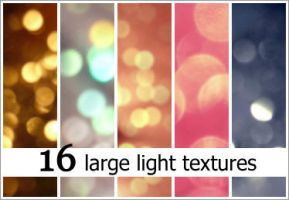 16 LARGE LIGHT TEXTURES by xnienke