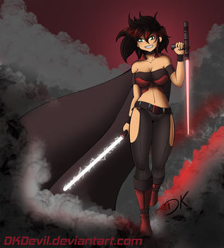 Commission: Sith Ellie by DKDevil