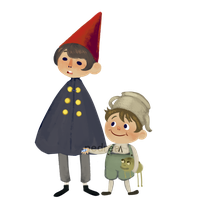 Over the Garden Wall (Sticker) by frogbun