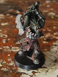ChainMail Minis-Orc Berserker by WhiteFenrril