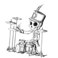 The Black Parade drummer by S-I-O-N-E