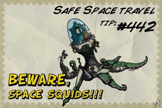 Safe Space Travel Tip: #442 by Heartlessomen