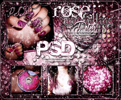 ~RoseAndFallingPetals{psd} by Fucking-CatchMe