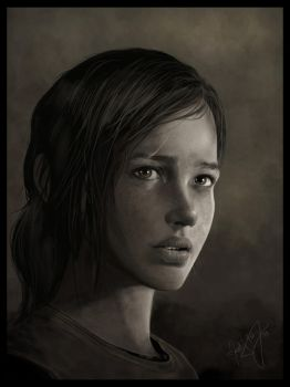 Ellie - The Last of Us by MartyIsi
