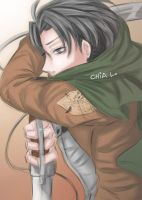 SNK - Lance Corporal Rivaille by mekanikarutenshi