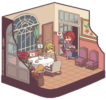 Another usual day in Mr.Mori's house by hitogata