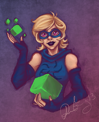 Homestuck: Rogue of Void by MirageFlames