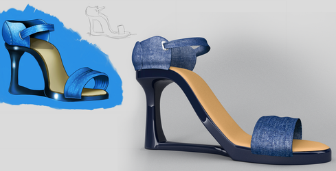 Shoe Design Concept by KennBaker