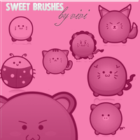 sweet brushes :D by chocoholic01
