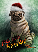 Happy Holidays Felices Fiestas by ChemaIllustration