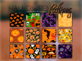 Halloween Patterns || Clari by RadiantDay