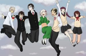 Ao no Exorcist by deepcheese