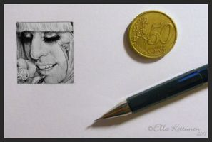 Poker Face Miniature by eeella