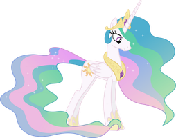 Princess Celestia by 90Sigma