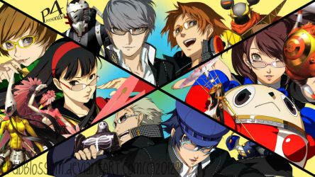 An All-Out Attack!!-Persona 4 Wallpaper by PPGDBlossom