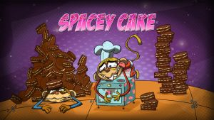Spacey Cake Titlecard Copy by HEROBOY