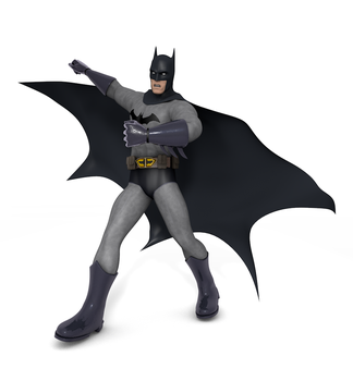 Batman 3D Model by TheRPGPlayer