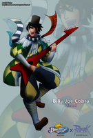 Billy Joe Cobra the Minstrel by witch-girl-pilar