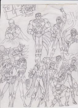 DC's Justice League by triplestar100