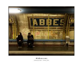 Abbesses by dekleene